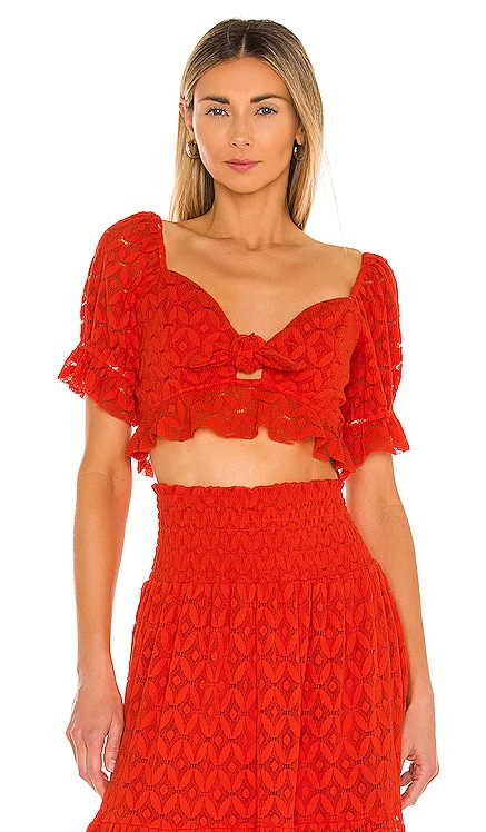 Coco Crop Top Show Me Your Mumu $128 NEW