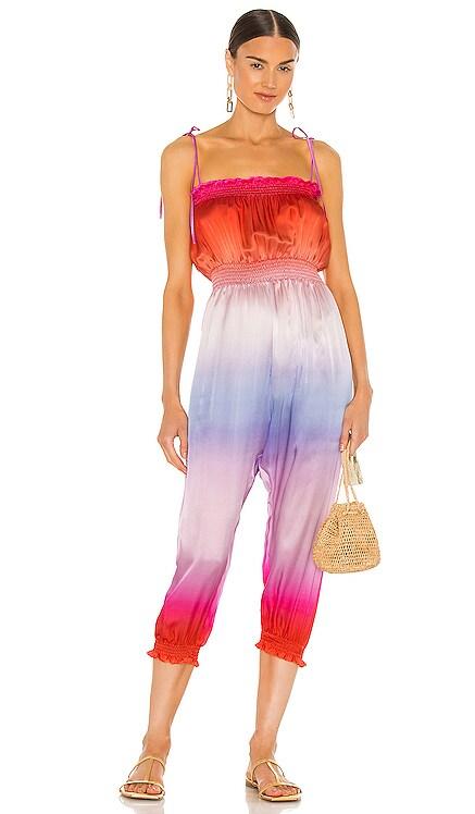 Denisse Jumpsuit Silk Roads by Adriana Iglesias $349 NEW