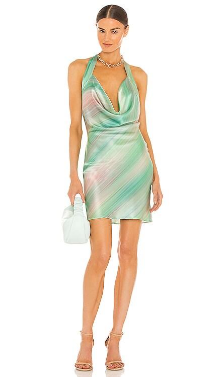 Esther Dress Silk Roads by Adriana Iglesias $315 NEW