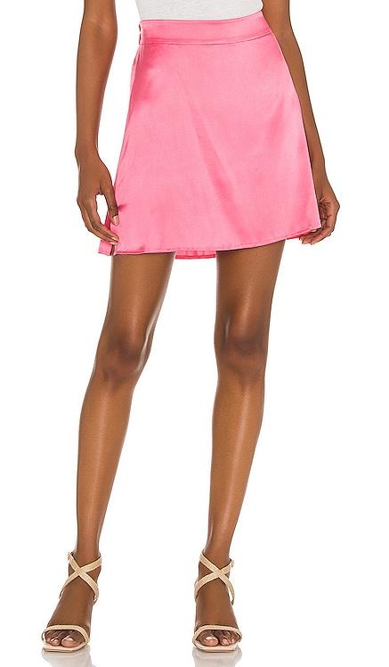 Iris Mini Skirt Silk Roads by Adriana Iglesias $195 NEW