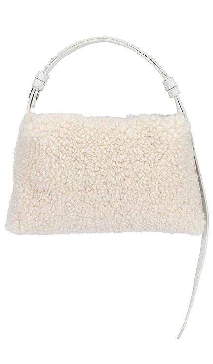 Mini Puffin Vegan Shearling Bag Simon Miller $220