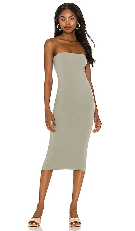 Hestia Strapless Dress Skin $125