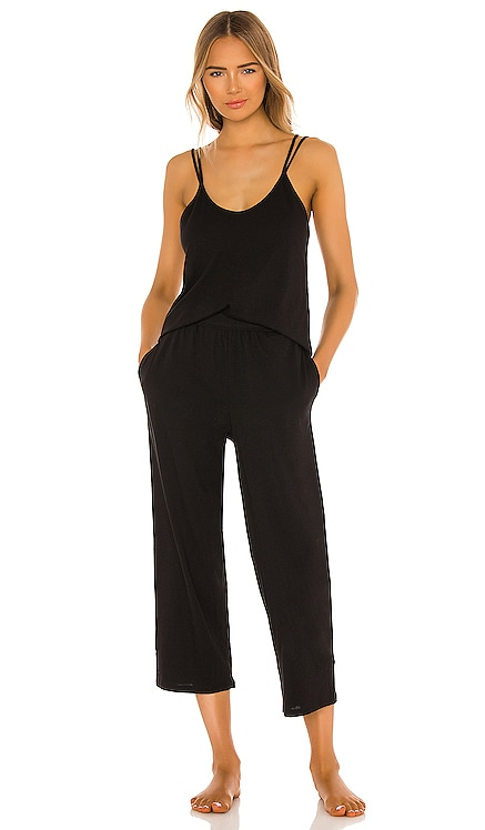 Calista Double Strap Cami and Crop Pant Set Skin $125