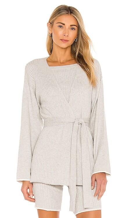 Marissa Cotton Cashmere Cardigan Skin $250 NEW