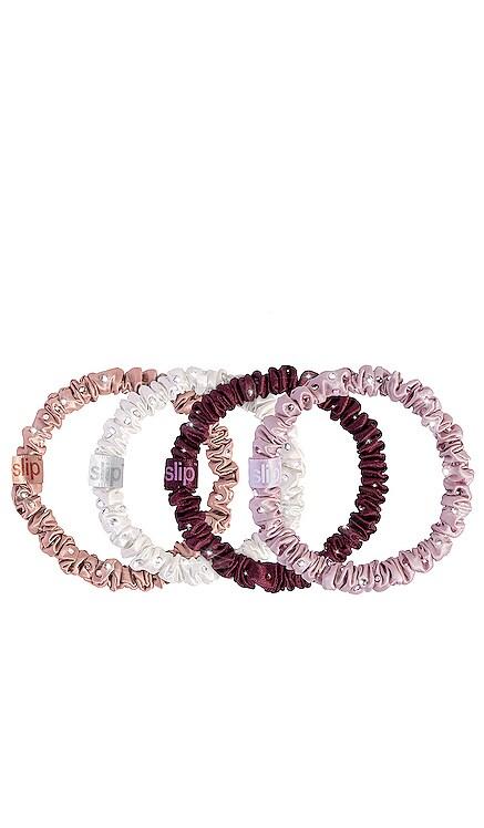 Crystal Skinnie Scrunchie 4 Pack slip $45 ベストセラー
