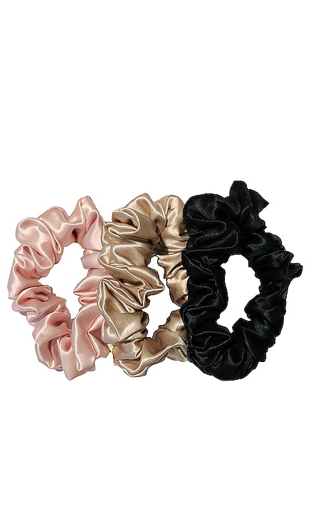 Classic Large Scrunchie 3 Pack slip $39 NEW