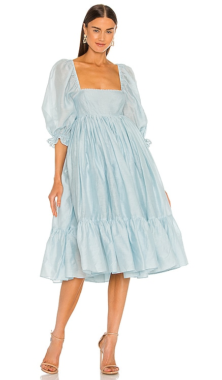 The French Puff Dress Selkie $329