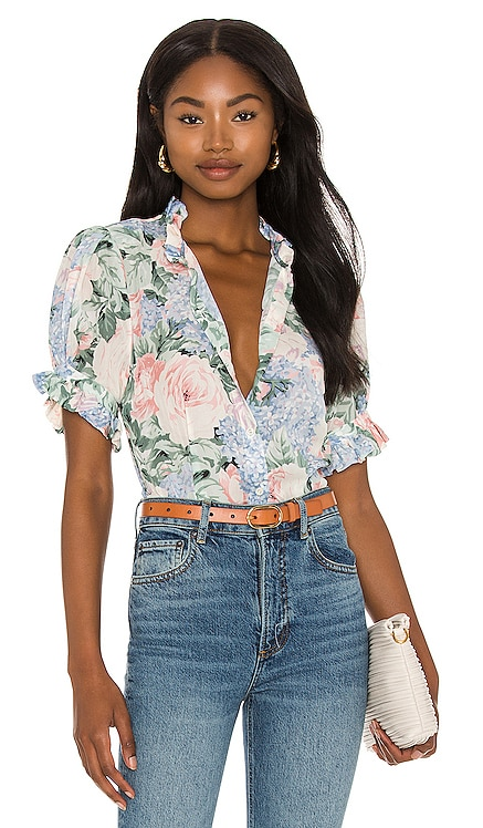 X REVOLVE The Bistro Blouse Selkie $152
