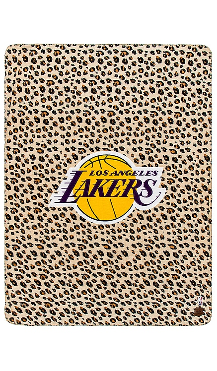 Lakers Cheetah Blanket Slowtide $35 NEW