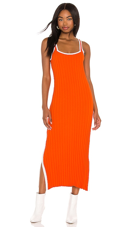 Kimberly Dress Solid & Striped $228