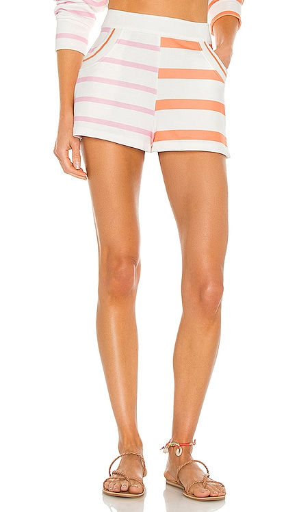 Sophie Short Solid & Striped $98 NEW