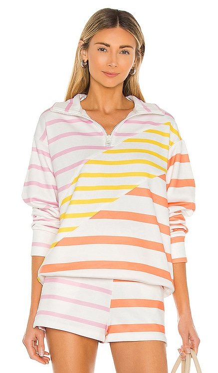 Pullover Solid & Striped $188 NEW