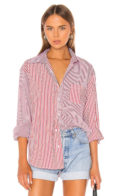 x RE/DONE Oxford Button Down Solid & Striped $78