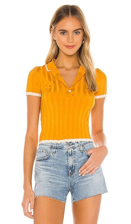 Rib Polo Shirt Solid & Striped $148