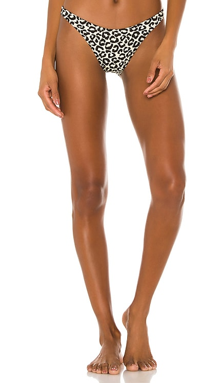 Eva Bikini Bottom Solid & Striped $88