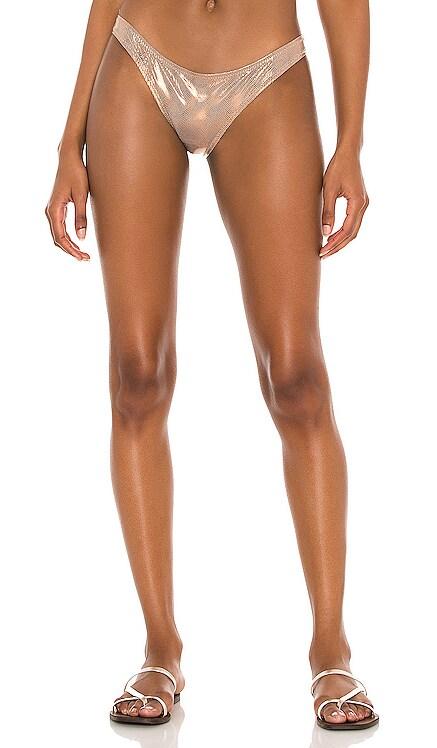 Eva Bikini Bottom Solid & Striped $88 NEW