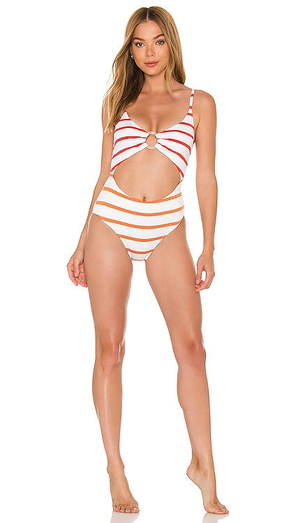 The Esme One Piece Solid & Striped $178