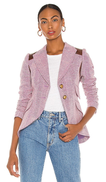 Rifle-Patch Equestrian Blazer Smythe $795