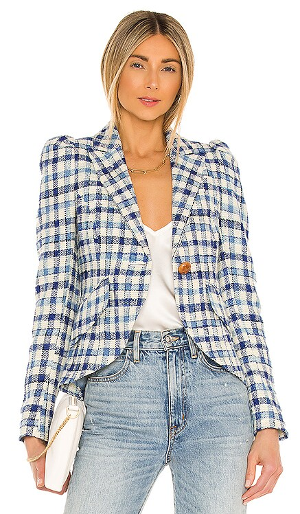 Pouf Sleeve One Button Blazer Smythe $795 NUEVO