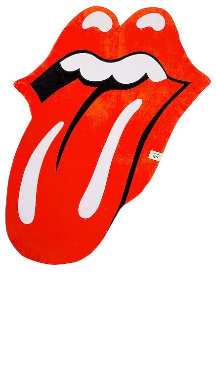 Rolling Stone Lips Shaped Towel Sunnylife $60