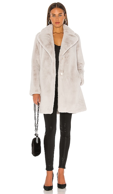 Renada Faux Fur Coat Soia & Kyo $138