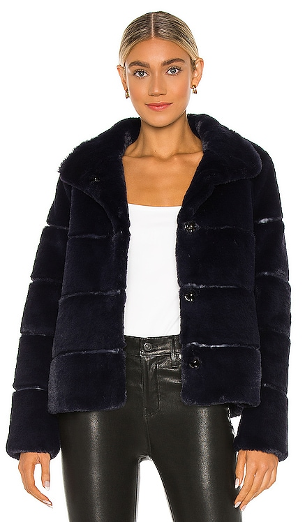 Bea Faux Fur Jacket Soia & Kyo $295