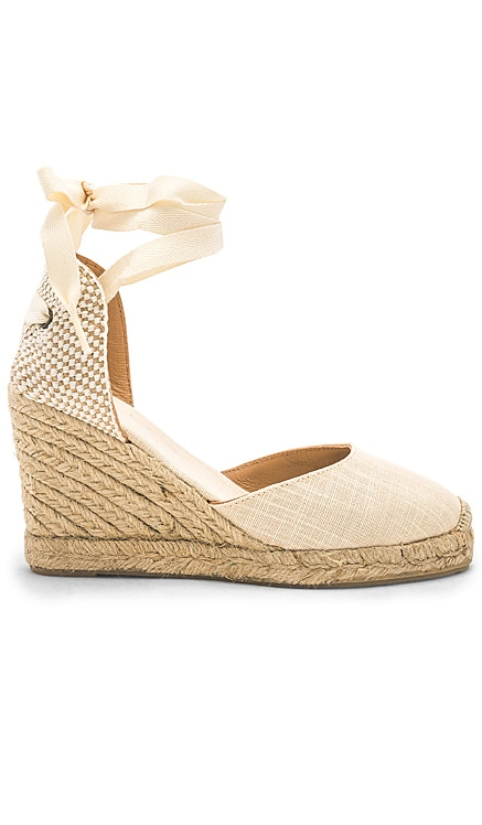 Tall Wedge Soludos $95