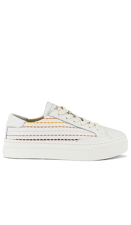 Quilted Stripe Sneaker Soludos $149 NEW