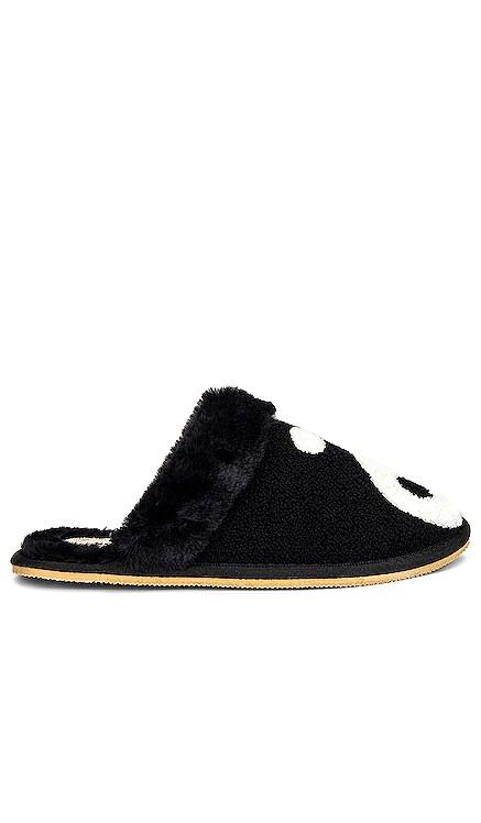 Yin Yang Cozy Faux Fur Slipper Soludos $85 NEW