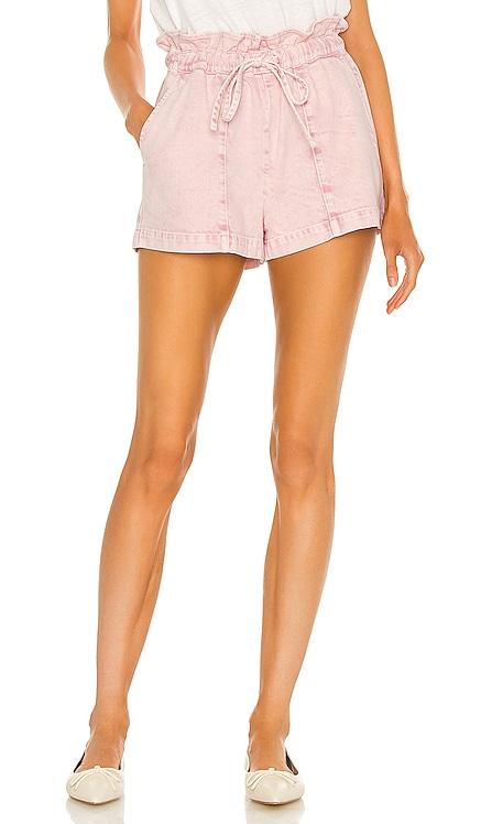 Agnes Paperbag Shorts Something Navy $125 BEST SELLER