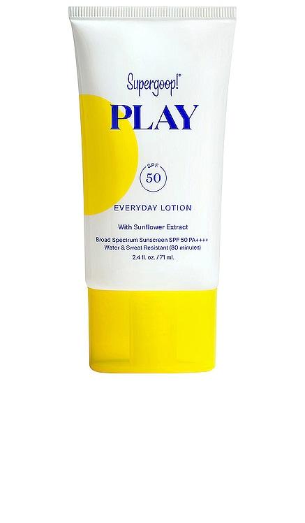 PLAY Everyday Lotion SPF 50 Supergoop! $22
