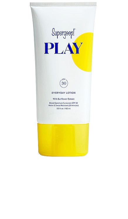 PLAY Everyday Lotion SPF 30 Supergoop! $32 BEST SELLER