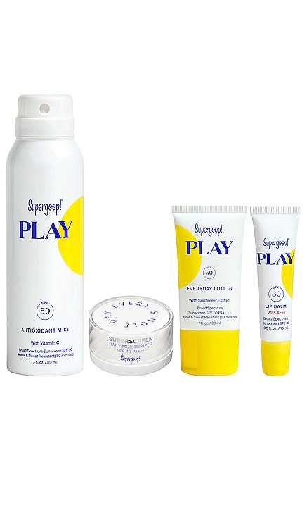 Ready, Set, Play Set Supergoop! $45