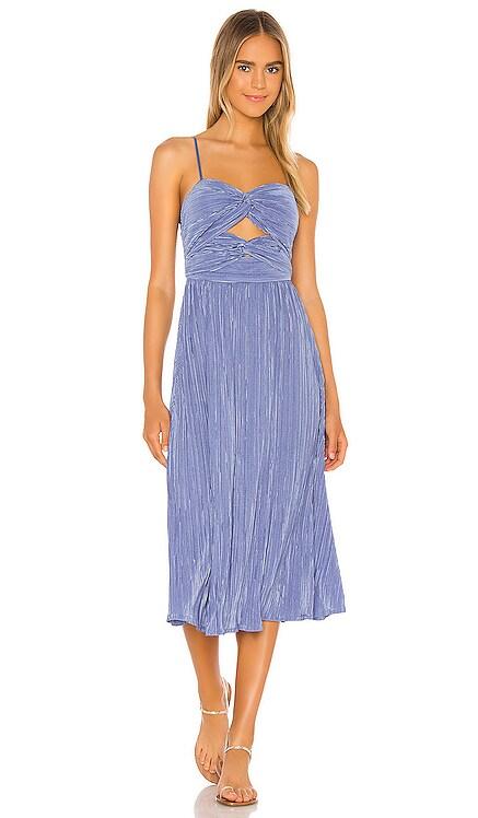 Priscilla Midi Dress Song of Style $80