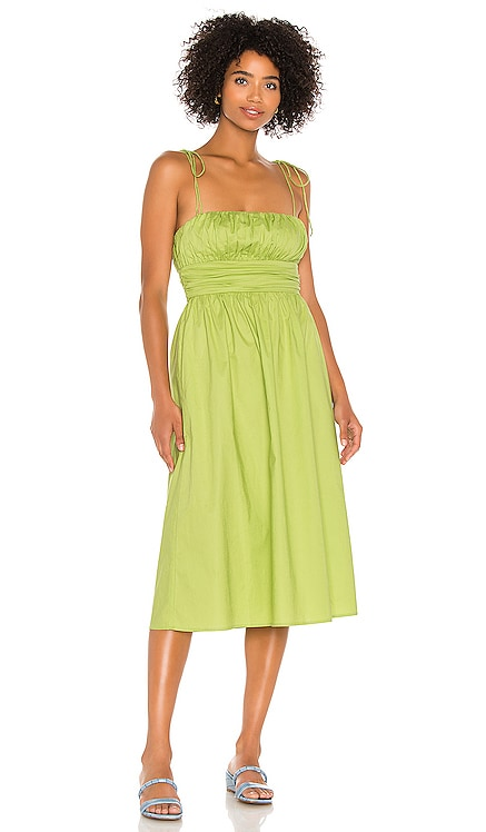Marianne Midi Dress Song of Style $218 NEW
