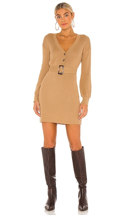 Darcey Sweater Dress Song of Style $188 NEW