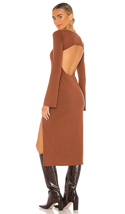 Marney Midi Dress Song of Style $97