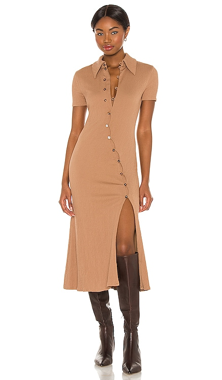 Polly Midi Dress Song of Style $168 NEW