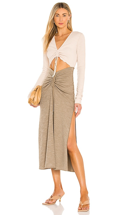 Ezra Midi Dress Song of Style $218 BEST SELLER