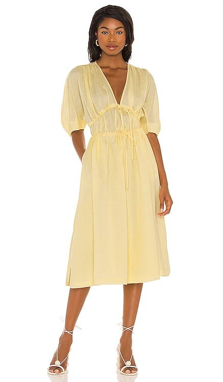 Sonnet Midi Dress Song of Style $298
