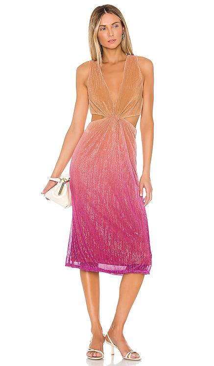 Maddox Midi Dress Song of Style $168