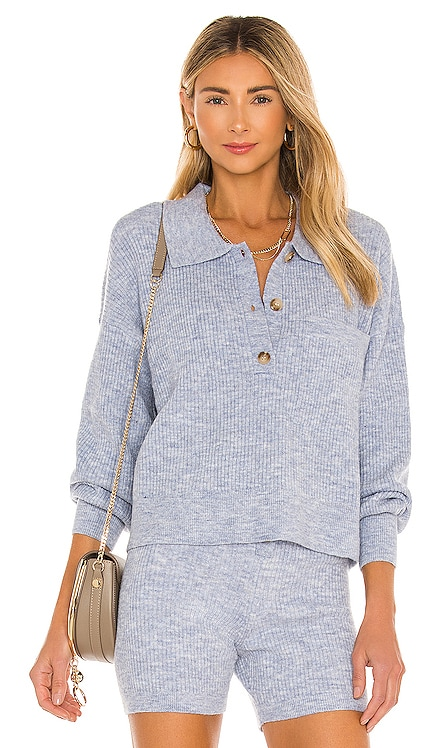Amanda Oversized Knit Polo Song of Style $175 MÁS VENDIDO