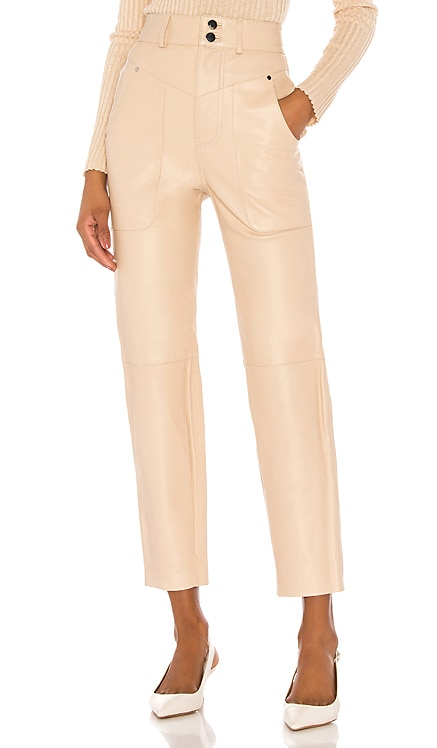 Seana Leather Pant Song of Style $349