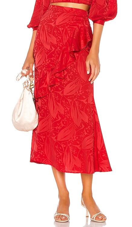 Eaton Midi Skirt Song of Style $58
