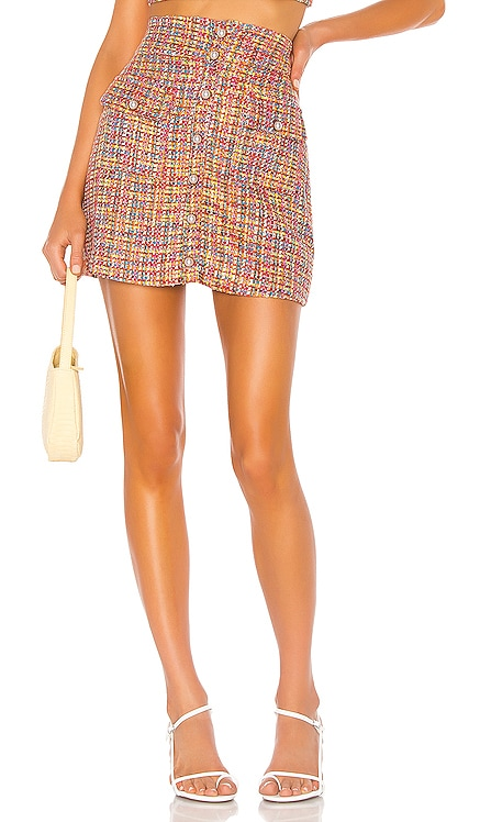 Lyric Mini Skirt Song of Style $158 BEST SELLER