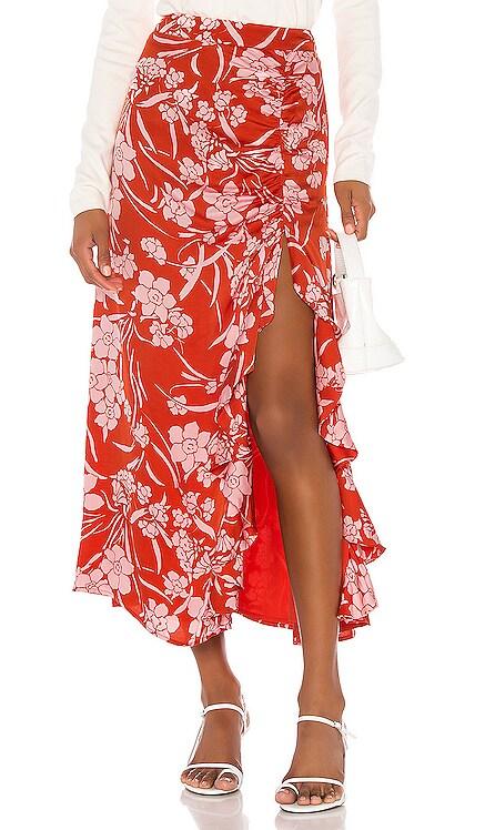 Zahir Midi Skirt Song of Style $64