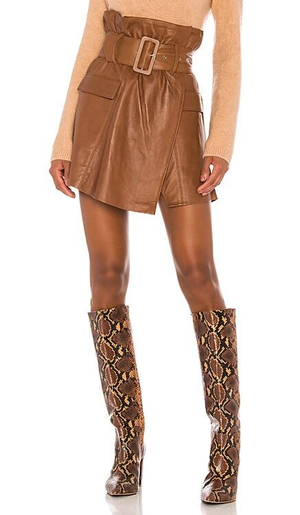 Brandy Leather Skirt Song of Style $398 BEST SELLER