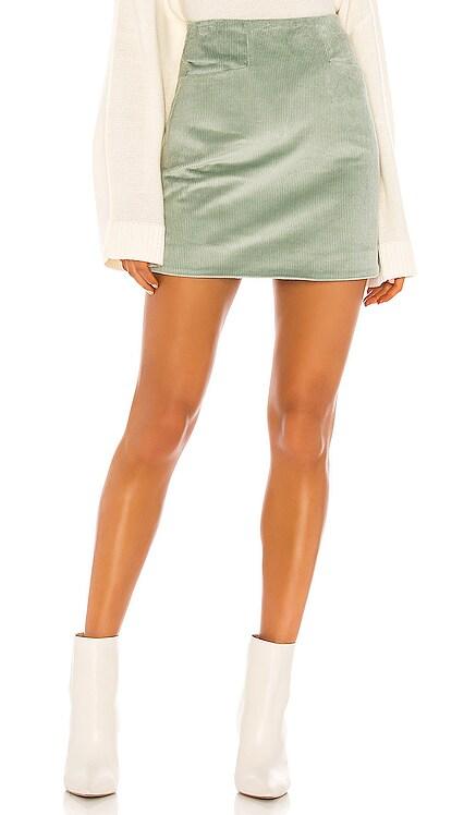 Joelle Mini Skirt Song of Style $89