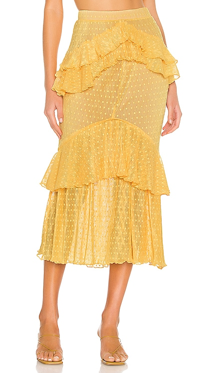 Ada Midi Skirt Song of Style $183