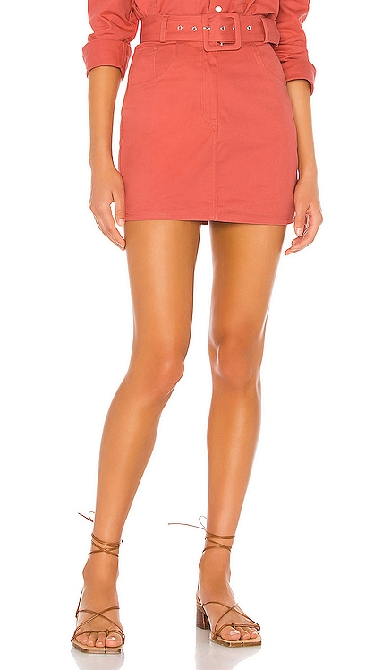 Daphne Mini Skirt Song of Style $138